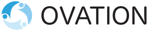 Ovation Solutions Rebrand Main Logo